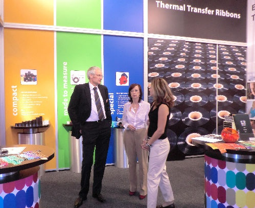 Our stand at the Labelexpo Europe in 2011.
